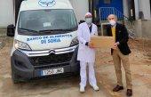 Nueva donación de Cárnicas Villar al BALSO