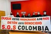 Declaración institucional contra represión en Colombia