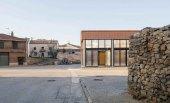 El teleclub de Noviercas, finalista en Bienal de Arquitectura