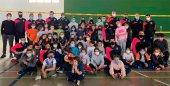 Visita a los más pequeños del Sporting Santo Domingo