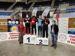 Cinco medallas en Santander para los volantistas