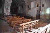 Instalación eléctrica en la iglesia de Cerbón