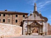 Patrimonio autoriza sustituir aceras en Santa María de Huerta