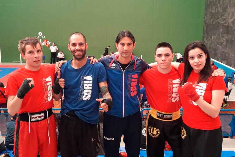 Participación de Kickboxing Soria en regional