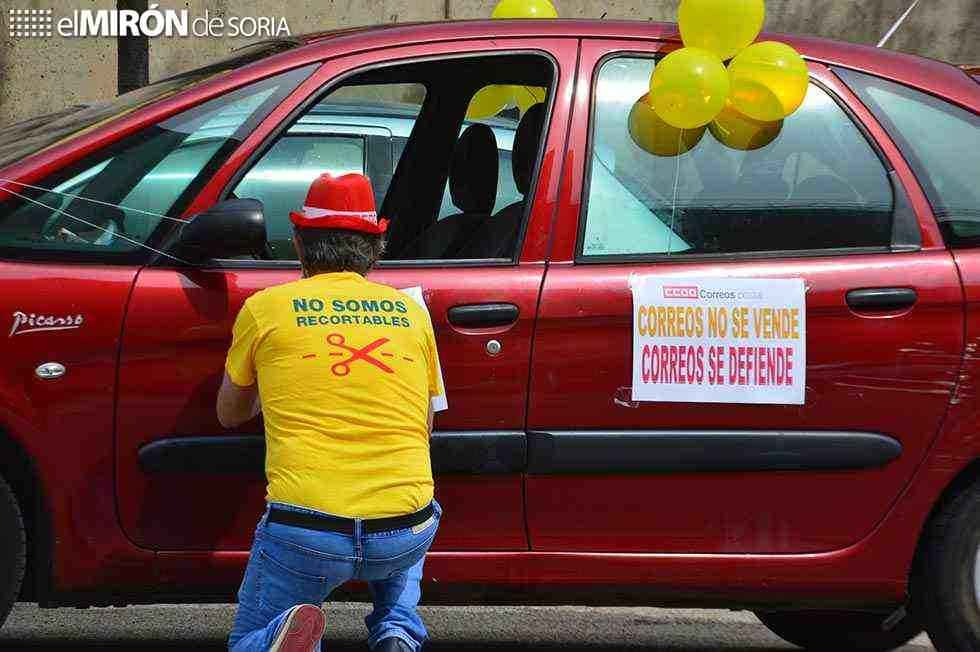 Moción unánime para rechazar recortes en Correos