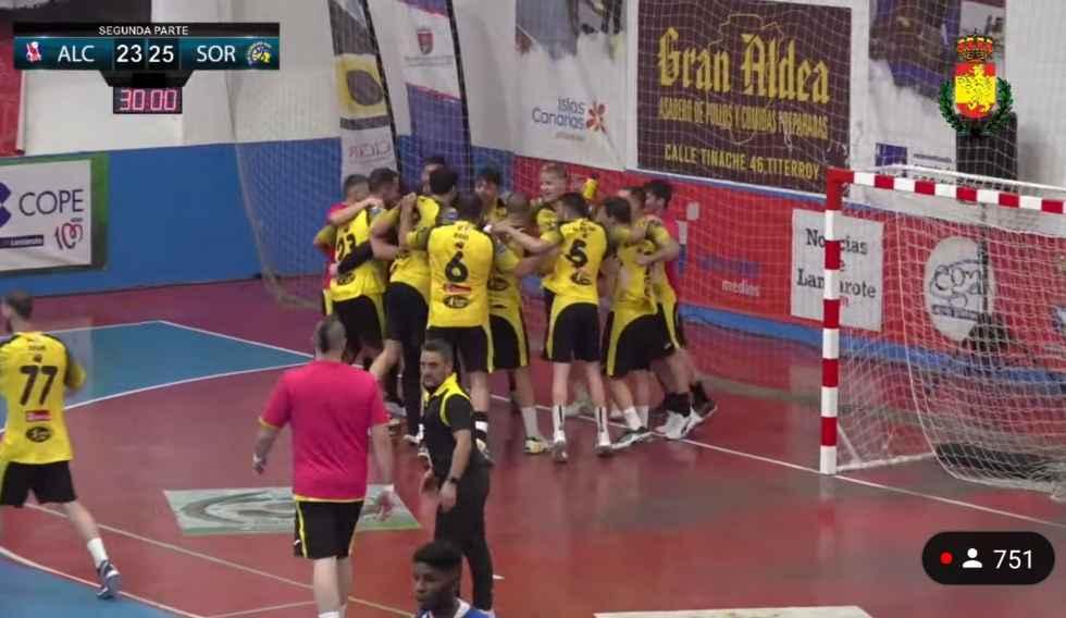 El BM Soria comienza ganando al Agustinos