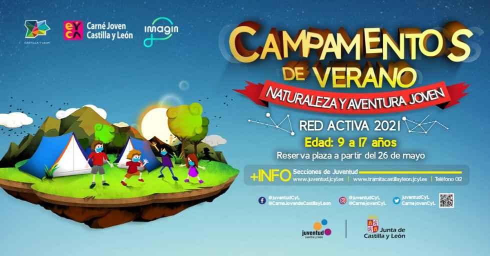 La Junta amplia la oferta de campamentos Red Activa