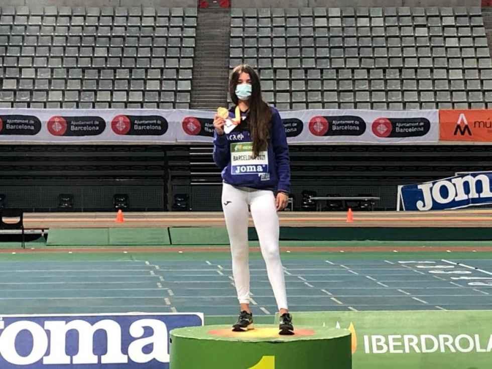 Sara Bogo, oro en Campeonato de Federaciones