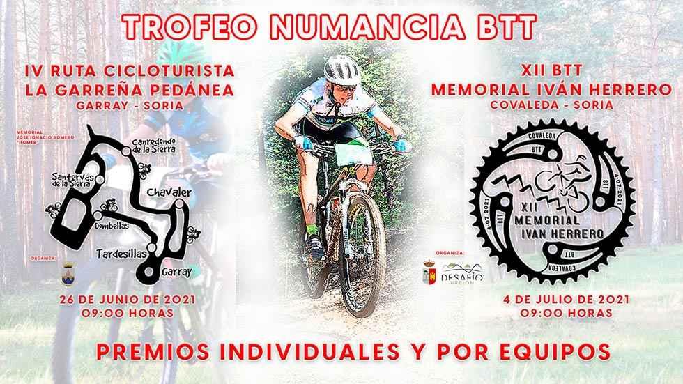 Nace el Trofeo Numancia BTT
