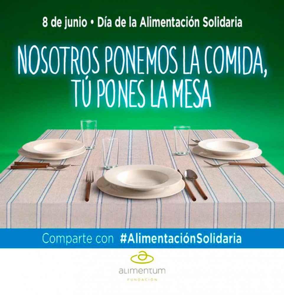 Colaboración con el Día de la Alimentación Solidaria