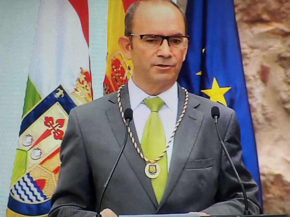 "El profesor Miguel Ibáñez, ""Riojano Ilustre"""