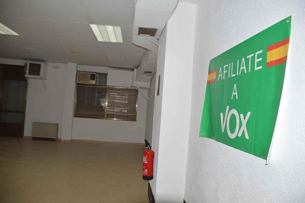 Vox abre sede en Soria