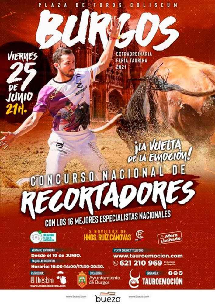 """El recortador """"Muni"""", en Concurso Nacional en Burgos"""