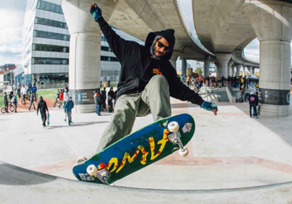 Ólvega regula el uso de pista de skatepark