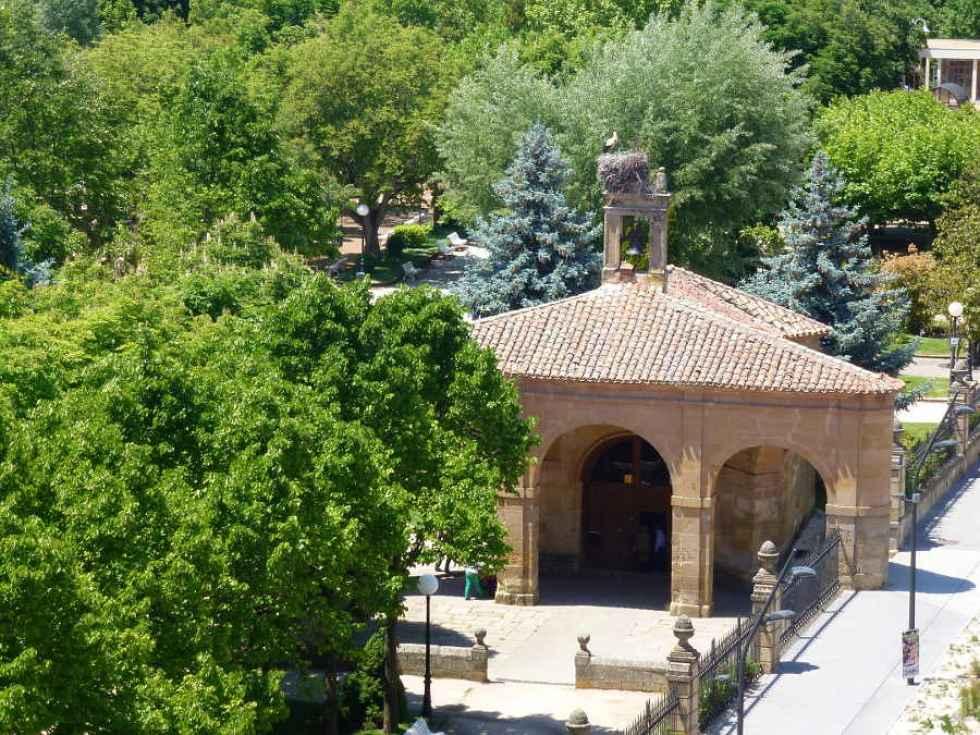 Barandillas en acceso a ermita de la Soledad