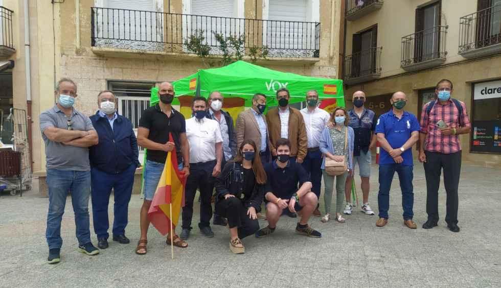Acto de hermanamiento de Vox Soria y Zaragoza
