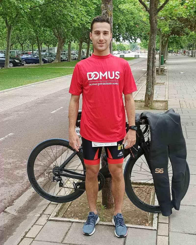 Laorden, quinto en triatlón de Logroño