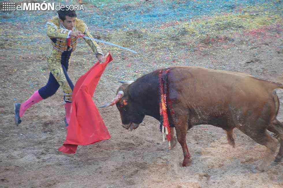 Tarde entretenida de toros en Quintana Redonda