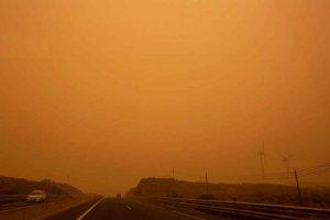 Precaución por polvo procedente de África