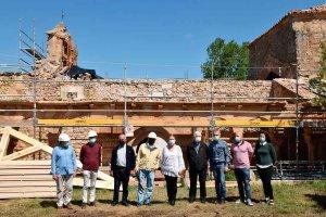 Iniciada restauración de iglesia de La Omeñaca