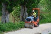 Obras de mejora de sendas de las márgenes del Duero