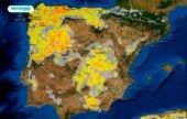 Temperaturas extremas y tormentas con granizo