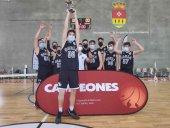 El CSB infantil, campeón en la Copa Castilla y León