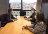Trasladan propuestas contra despoblación a Podemos