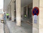 El Ayuntamiento cambia pavimento de la calle Sagunto