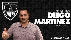 Diego Martínez, el nuevo entrenador rojillo