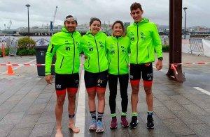 El Triatlón Soriano gana relevos pero no asciende