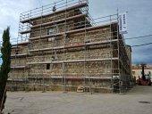 Avanza restauración de iglesia de Campanario