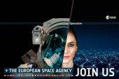 1.344 solicitudes para ser astronautas europeos