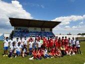 El fútbol une a Almazán y Madrid