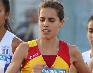 Marta Pérez, subcampeona de España