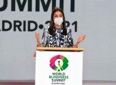 La Reina Letizia aboga por acceso a educación de niños ciegos
