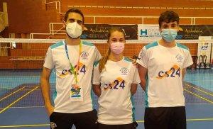 El Club Bádminton Soria, en 3 campeonatos nacionales