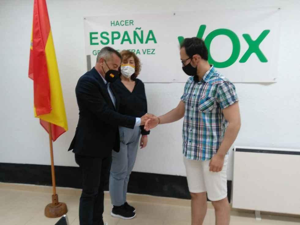 Primera reunión de afiliados de Vox en nueva sede