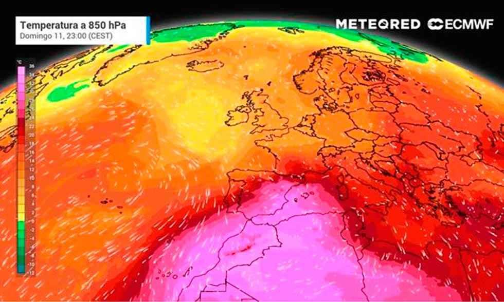 ¿Es posible alcanzar los 50 ºC en España?