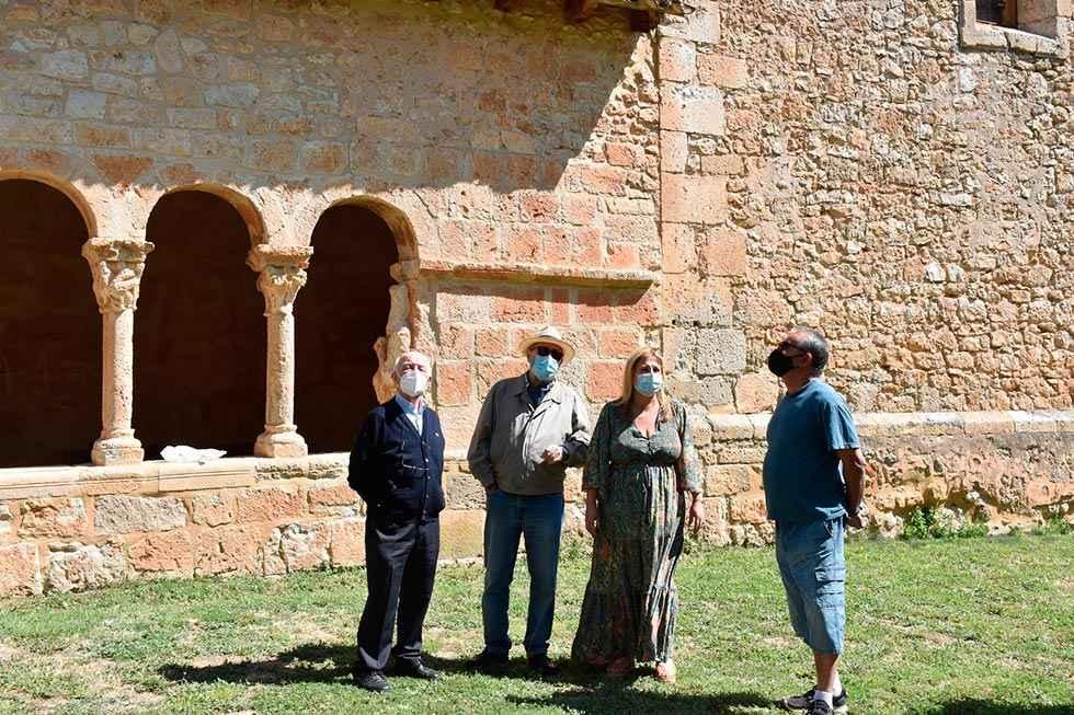Finalizada la reparación de la iglesia de Villasayas