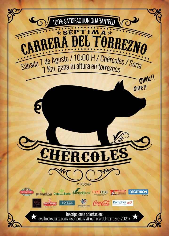Chércoles vuelve a organizar la VII Carrera del Torrezno
