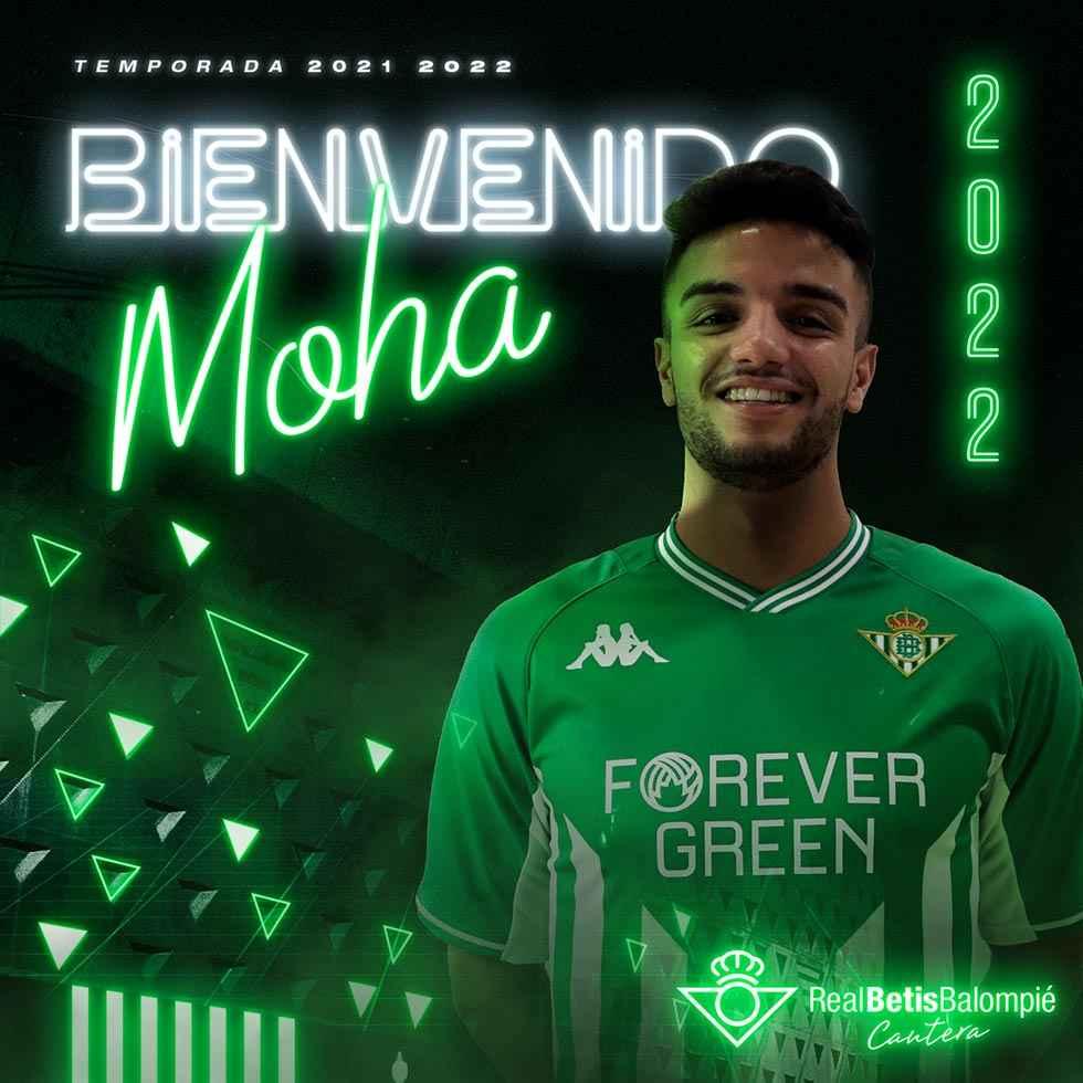 Moha se va cedido al Betis Deportivo