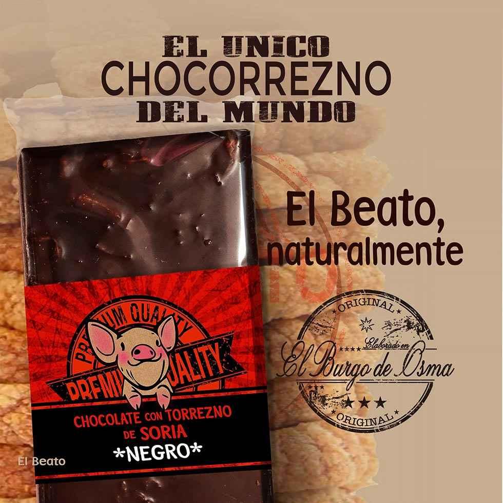 El Beato combina el chocolate con el torrezno