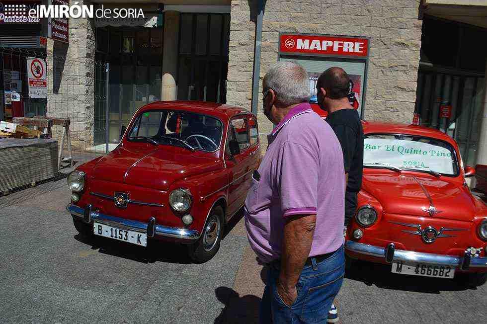 Los coches clásicos acaparan atención en Ágreda