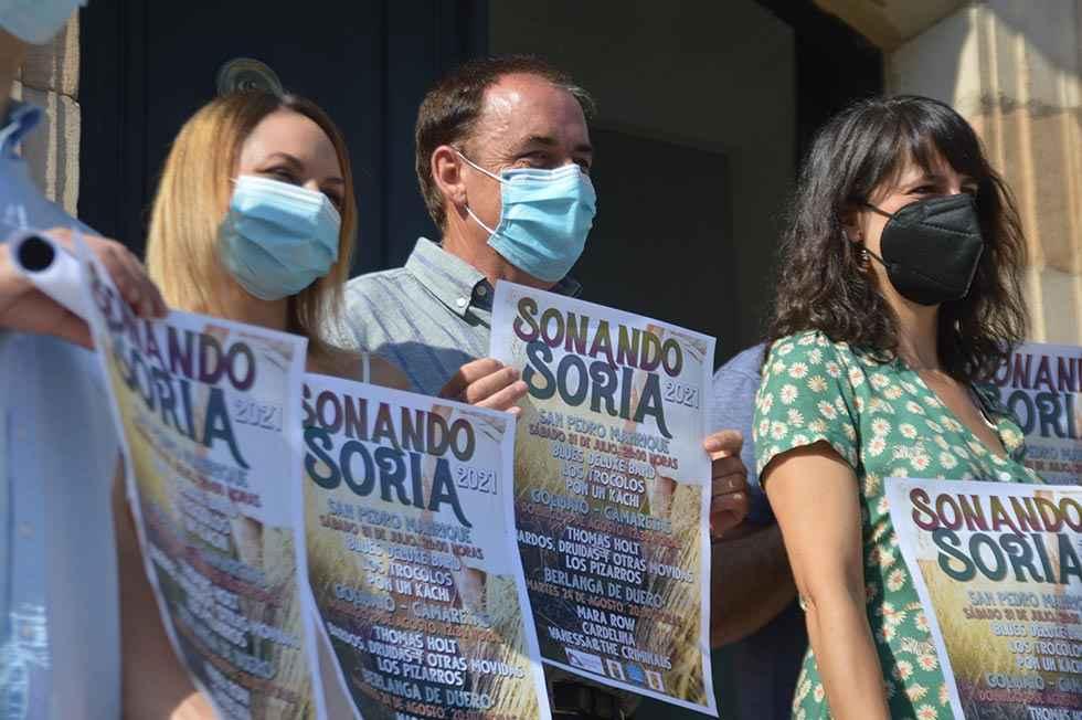 """""""Sonando Soria"""" programa tres conciertos este verano"""