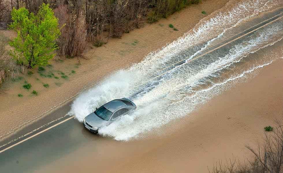 Casi medio millón de habitantes, en riesgo por inundación