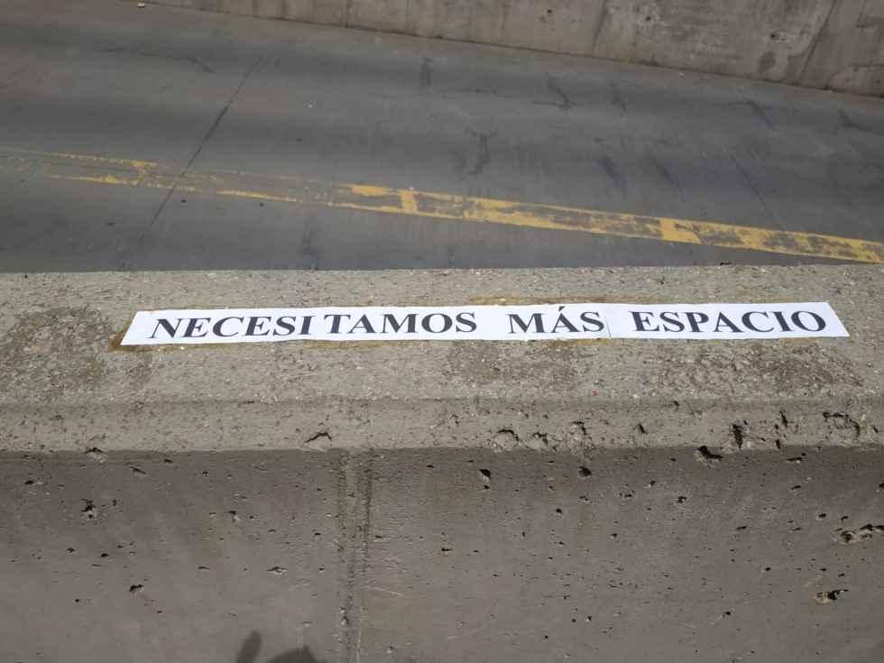 """Tres años de protestas por el """"embudo"""" peatonal"""