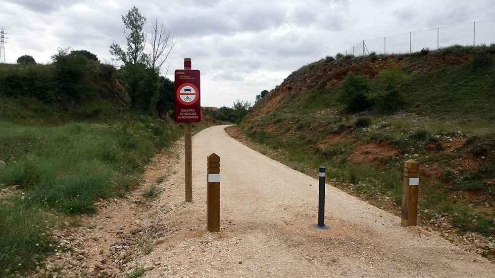 Las brigadas forestales desbrozarán la Vía Verde