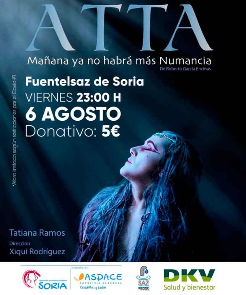 """Atta"" se representa en Fuentelsaz de Soria"