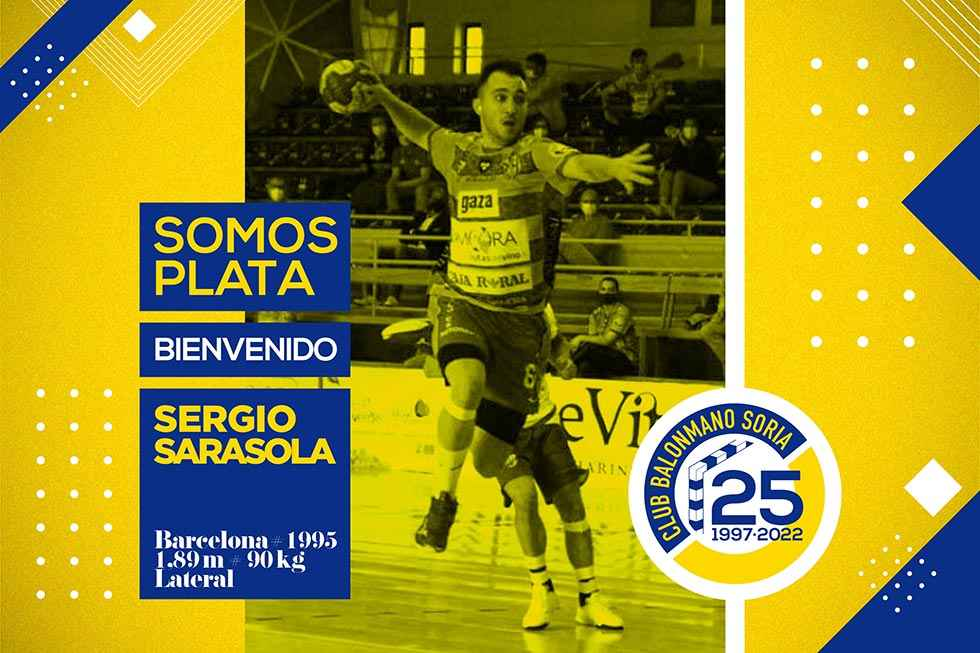 Sergio Sarasola, quinto fichaje de BM Soria